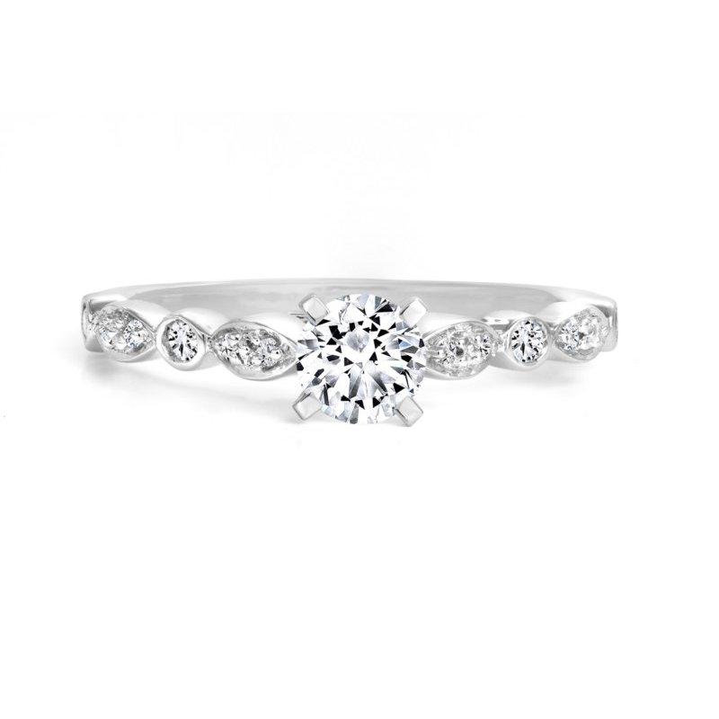 Canadian Rocks 14K Engagement Ring, 0.50 TDW