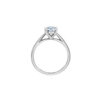 14K Lab Grown Diamond Engagement Ring, 1.01 TDW