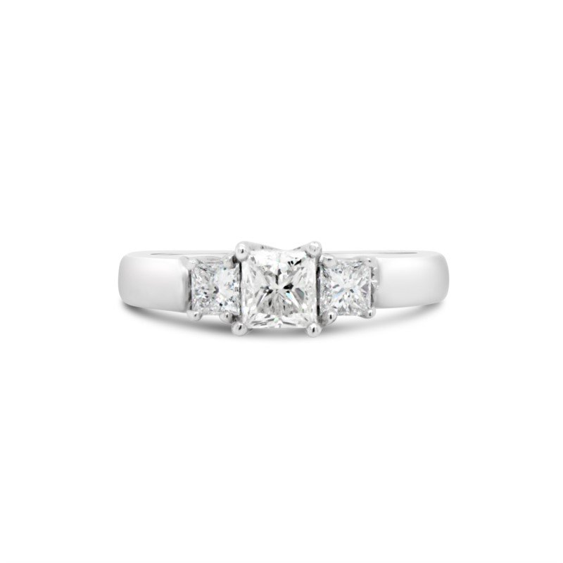 GNM Jewellery Collection 14K Canadian Diamond Engagement Ring, 0.85 TDW