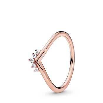 Tiara Wishbone Ring, size 4.5