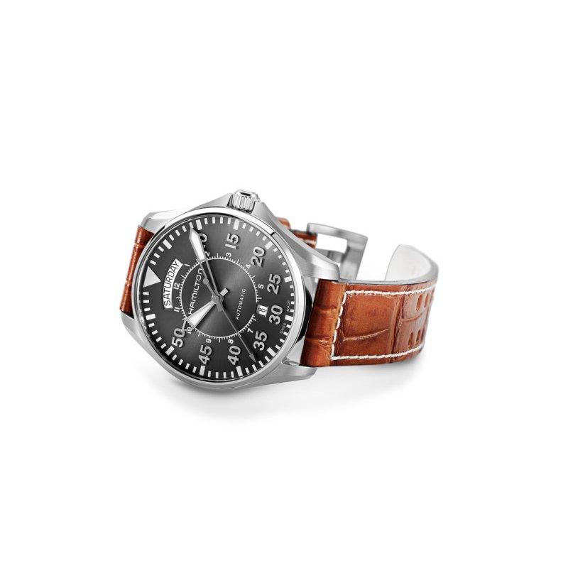 Hamilton Watches Khaki Aviation Pilot Day Date Auto