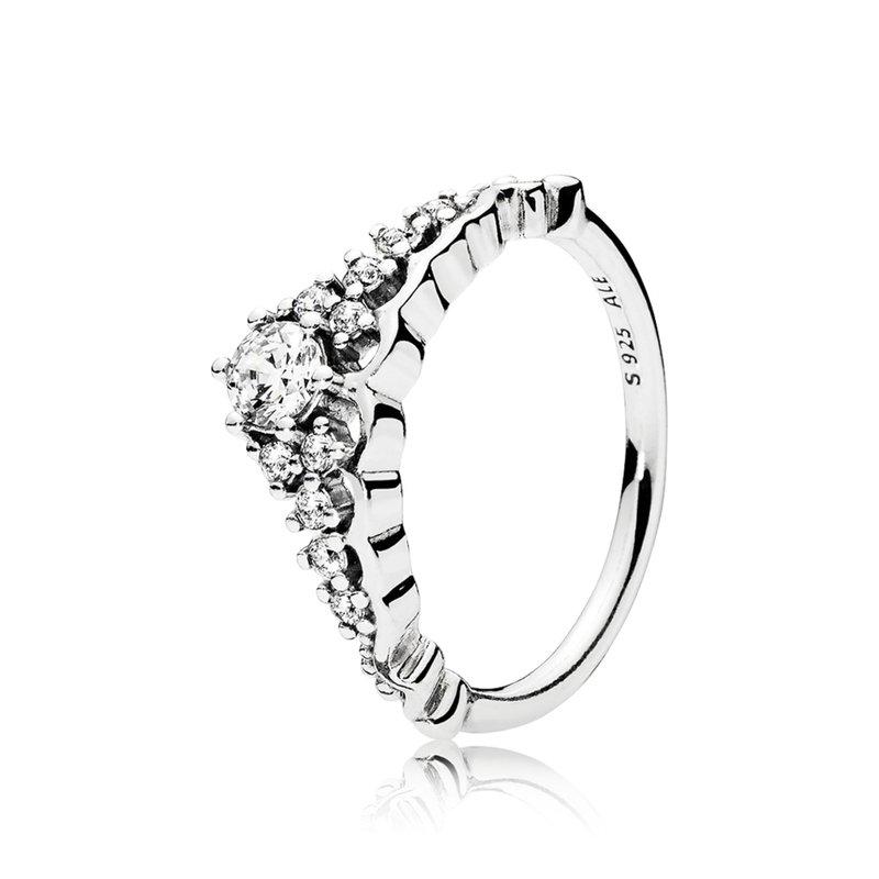 Pandora Fairytale Wedding Ring, size 7.5