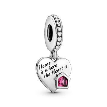 Love My Home Heart Dangle Charm