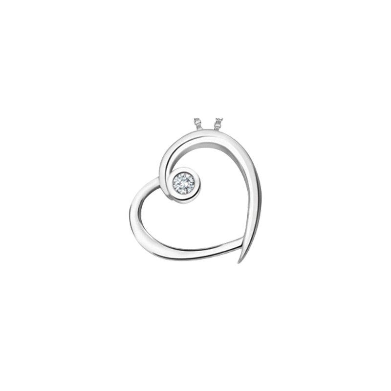 Forever Jewellery 10K Heart Pendant