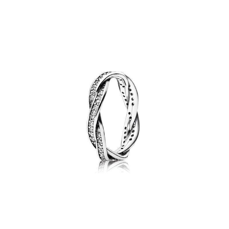Pandora Twist of Fate Ring, size 8.5