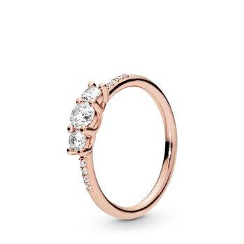 Sparkling Elegance Ring, size 4.5