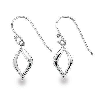 """""""Purse"""" Diamond Earrings"""