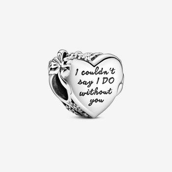 """""""I Do"""" Heart Charm"""