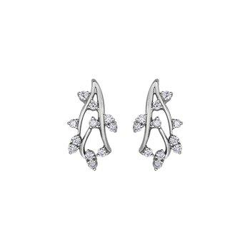 10k Diamond Envy earrings 0.50ct tw