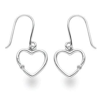 """""""My Heartbeat"""" Diamond Earrings"""