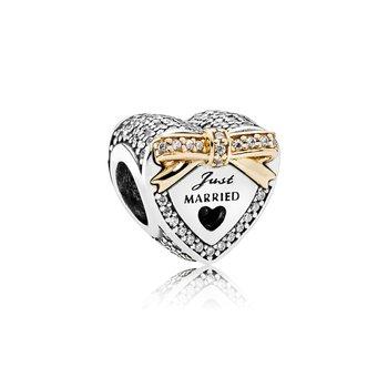 Wedding Day Heart Charm - FINAL SALE