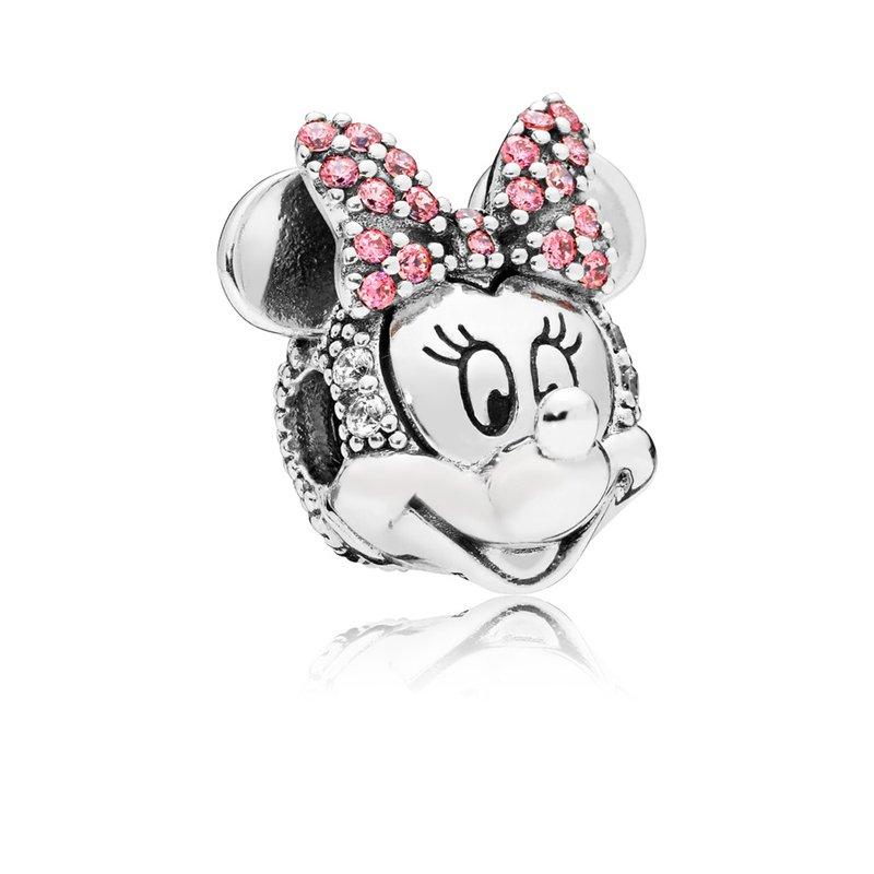 Pandora Disney, Shimmering Minnie Portrait Clip