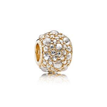 14K Gold Shimmering Droplets -  FINAL SALE