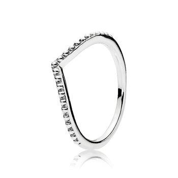 Beaded Wish Ring, size 9.0