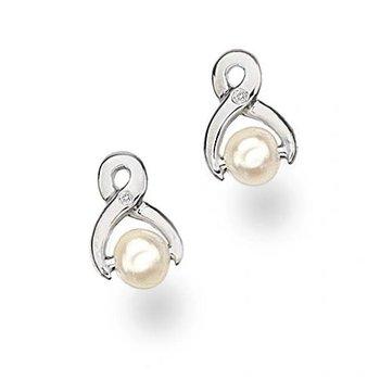 """Pearl"" Diamond Earrings"