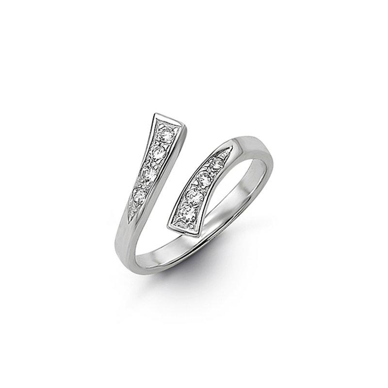 Bella 10K Pebbles Toe Ring