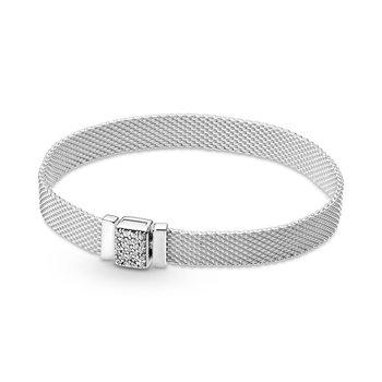 "Reflexions Sparkling Clasp Bracelet, 7.9"""
