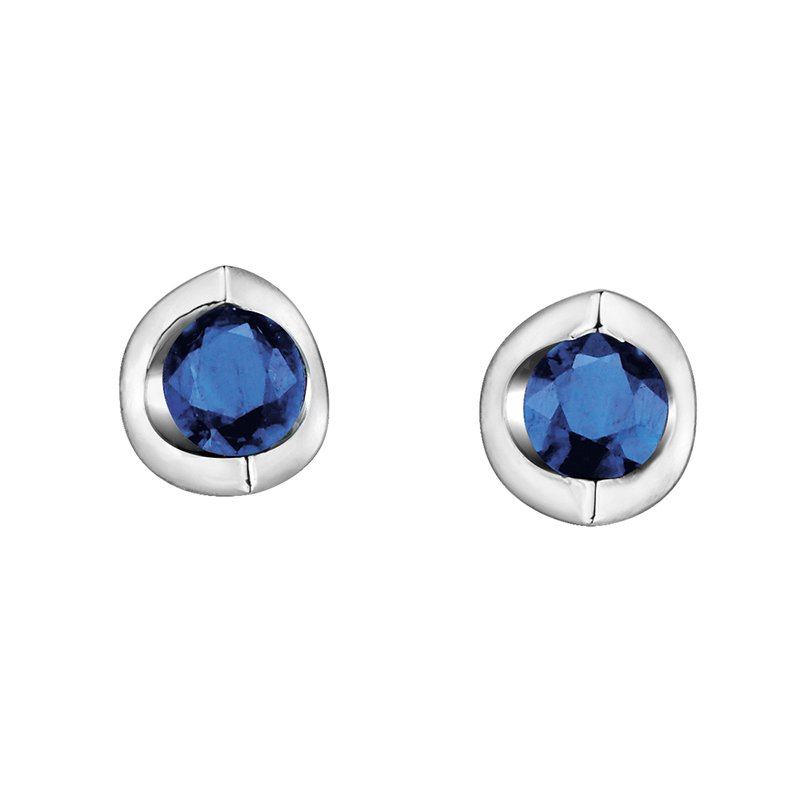 Forever Jewellery 10K Sapphire Earrings