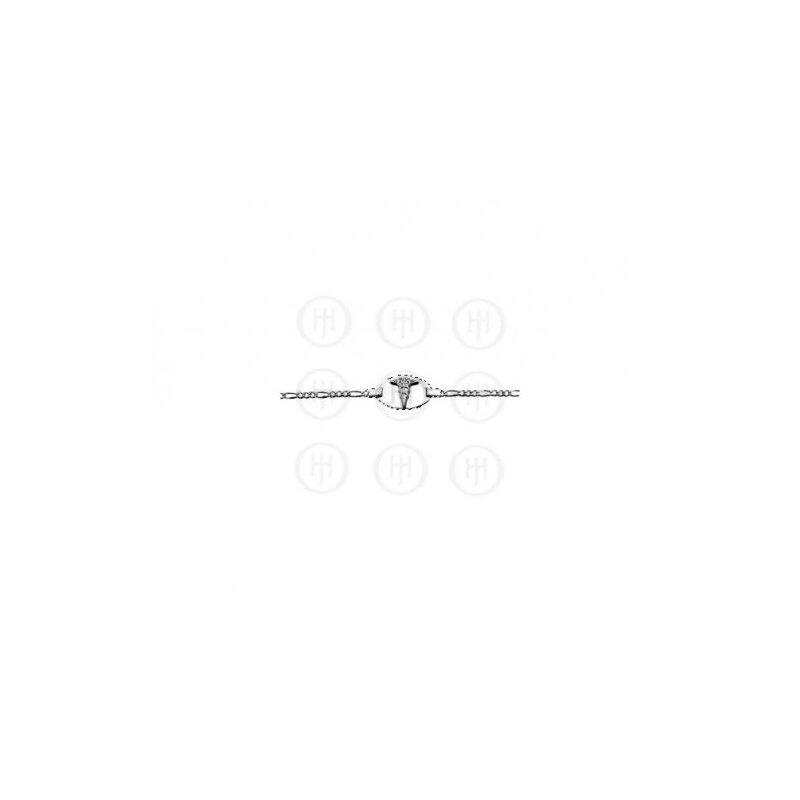 House of Jewellery Sterling Silver Medical Bracelet