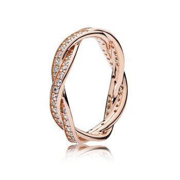 Twist of Fate Ring, size 7.5