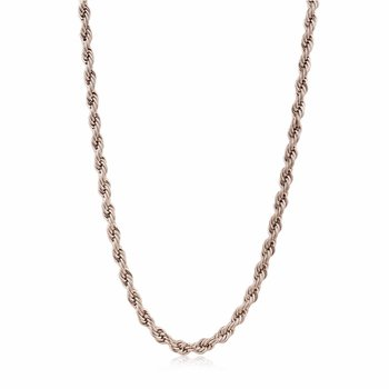 """Rose IP Rope Link Chain - 22"""""""