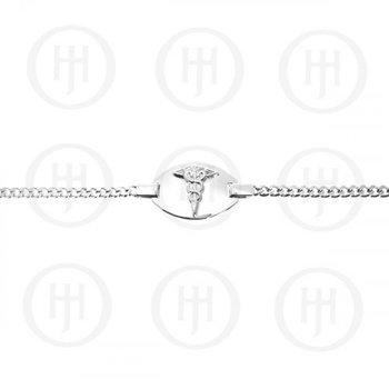 Sterling Silver Medical Bracelet