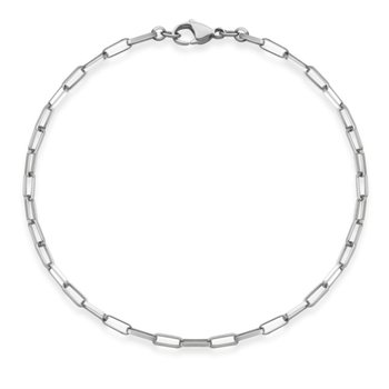 Paperclip Link Bracelet
