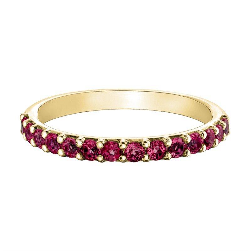 Chi Chi Designs 10k Yellow Gold Birthstone Ring, January