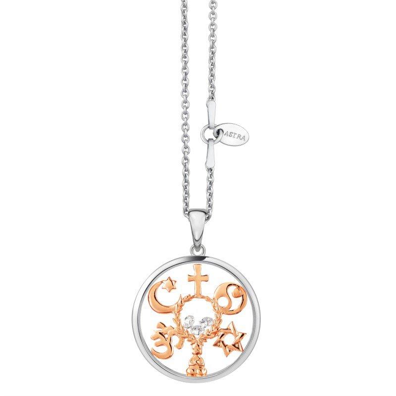 ASTRA Jewellery Coexist Pendant, 20mm