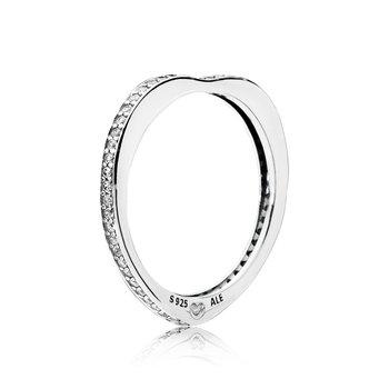 Sparkling Arcs of Love Ring, sz 7.0 - FINAL SALE