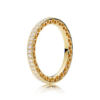 Hearts of PANDORA Ring, size 5.0
