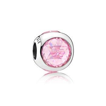 Pink Radiant Droplet Charm - FINAL SALE