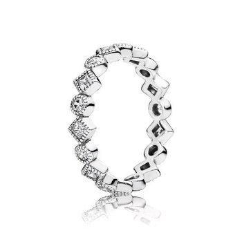 Alluring Brilliant Princess Ring, size 4.5 - FINAL SALE