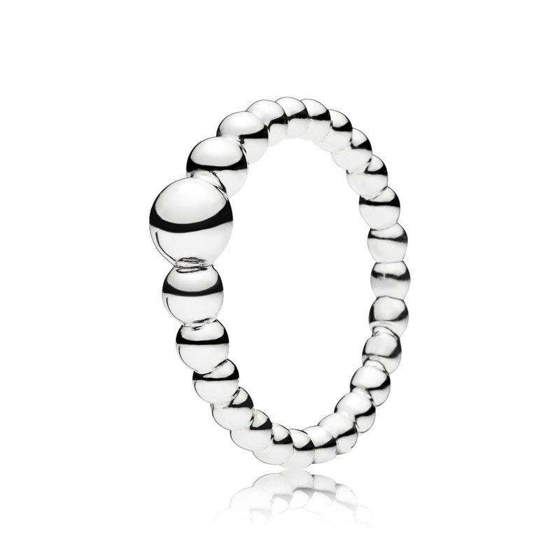Pandora String of Beads Ring, size 4.5