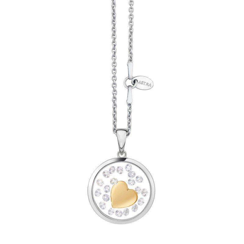 ASTRA Jewellery Heart Pendant, 16mm