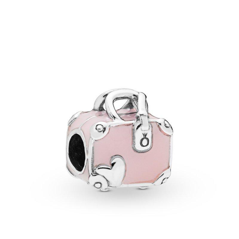 Pandora Pink Travel Bag Charm