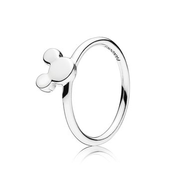 Disney Mickey Silhouette Ring, size 7.5