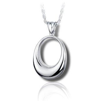 Oval Urn Pendant