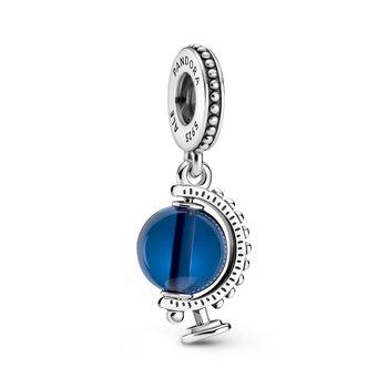 Blue Globe Dangle Charm