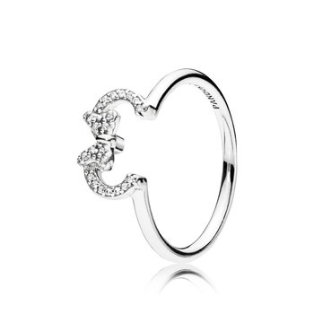 Minnie Silhouette Ring, size 7.0