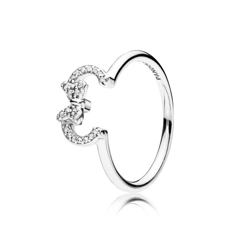 Pandora Minnie Silhouette Ring, size 7.0