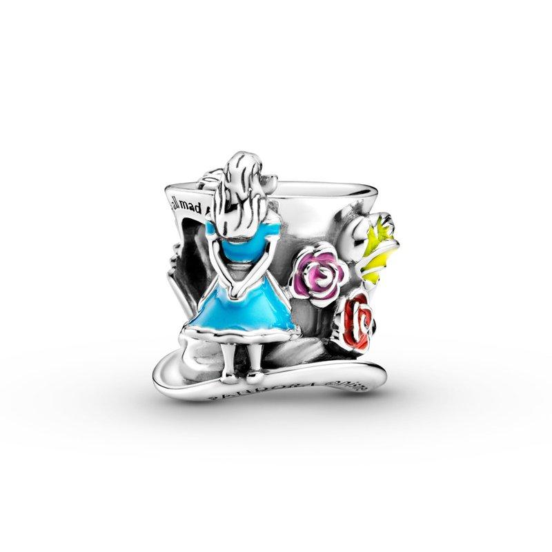 Pandora Disney, Alice in Wonderland & The Mad Hatter's Tea Party Charm