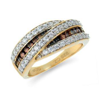 10k Diamond Statement Ring