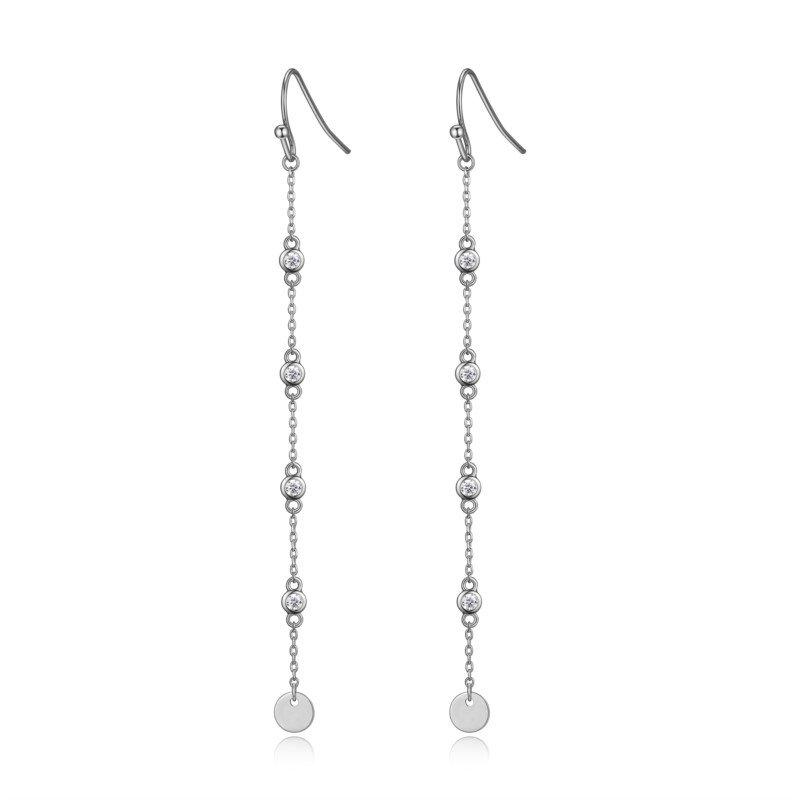 Reign Sterling Silver Dangle Earrings
