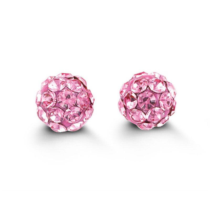 Bella Baby Bella 14k Firecracker Earrings- Pink