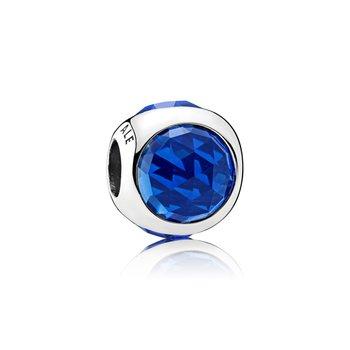 Royal Blue Radiant Droplet Charm - FINAL SALE