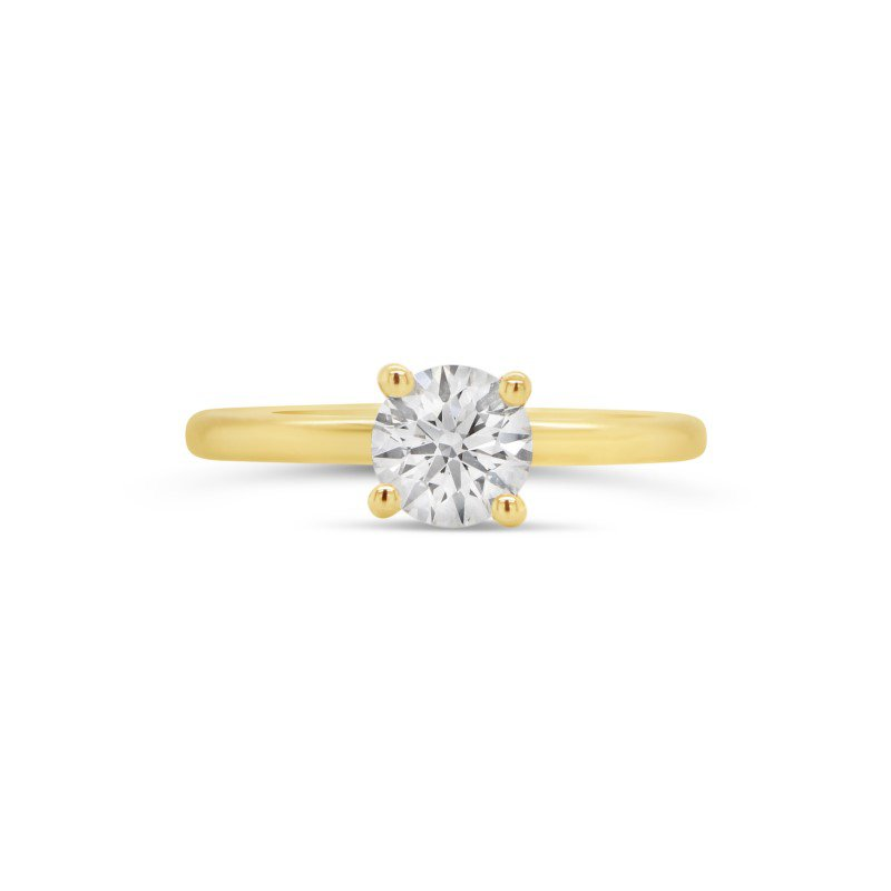 Diamond Evolution 14K Lab Grown Diamond Solitaire Engagement Ring, 0.70 TDW