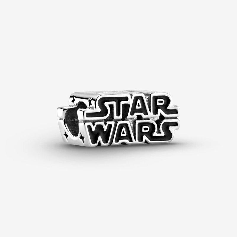 Pandora Star Wars Silver 3D Logo Charm