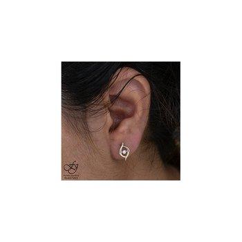 10K Diamond Pulse Earrings