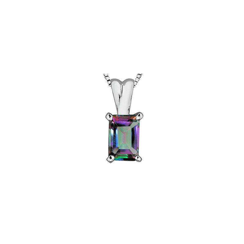 Forever Jewellery 10K Mystic Topaz Pendant